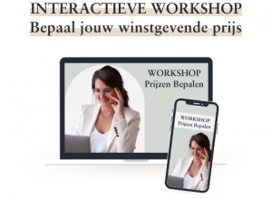 Workshop prijzen bepalen